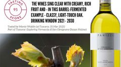95 points from Decanter for Vernaccia Sa...