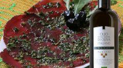 Bresaola in salsa vinaigrette