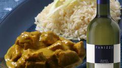 Curry di pollo e mele