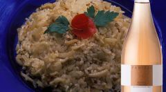 Risotto with fennel
